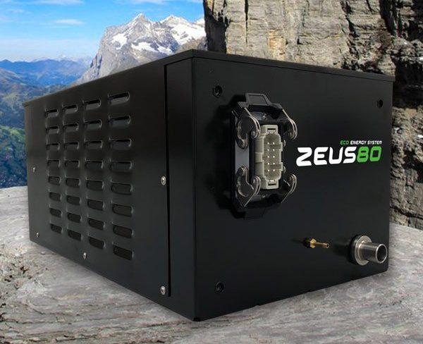 Generatore di corrente silenzioso ed ecologico per camper ZEUS 80