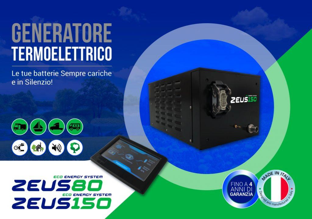 Generatore elettrico zeus 150